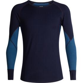 Icebreaker 260 Zone LS Crew Shirt Herren midnight navy/prussian blue